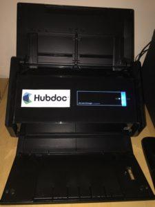 Hubdoc ScanSnap Books LA Integration